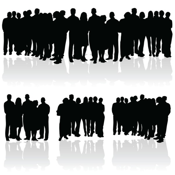 the-silent-majority-a-group-of-faceless-people
